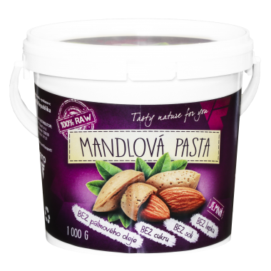 Zdravá výživa - Mandlové máslo 1 000 g