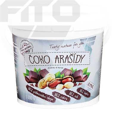 Zdravá výživa - Čoko - arašídy 1000 g